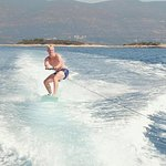 Wake boarding and tubing experience on Korcula island