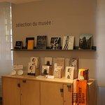 La boutique souvenir du musée Niepce