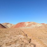 Colorful Mountains of Tabriz照片