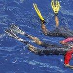 Balade en mer avec snorkeling