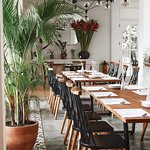 Our dining space, perfect for meetings and events.