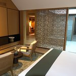 view from bedroom of Ming Deluxe Pavillion