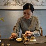 Mrs. Chen, incense Master