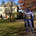 Ask about the house's historical connection to Batman!
