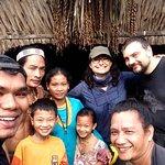 Foto de la tribu mentawai