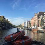 KIN boat amsterdam Foto