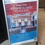 Fotografie: Pražský hrad - Polední koncert v Lobkowiczkém paláci