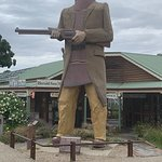 The Big Ned Kelly Statue Foto