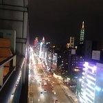 Taipei 101 view from balcony
