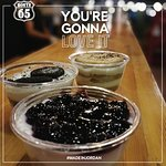 Blue Berry Cheese Cake, Oreo Cheese Cake, Tiramisu . The best choice after a delicious meal from Route 65