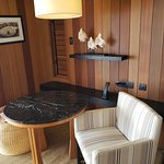 Sitting area in the King Overwater Bungalow