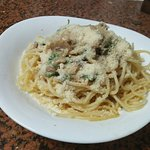 Our Italian pizza And pasta only here at La grotta italian restaurant san carlos city nefros occ