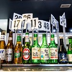 beer and Soju,Sake