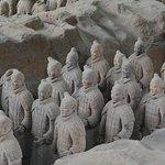 terracotta army in Xi'an