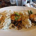 Salmon Three ways (with rice)