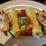 Salmon three ways (with potato)