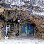 Entée de la grotte.