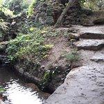 Грот и водопад