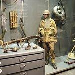 mooie display van Engelse valscherm commando's