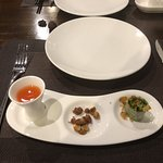 Amuse Bouche - a prelude to a terrific meal