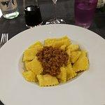 Tortelli di patate con ragù bianco bolognese