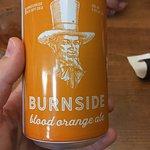Burnside blood orange ale, a local southern Alberta brew: super tasty!