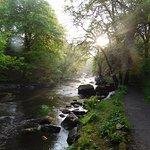 Take a walk along the Tryweryn Trails riverside path