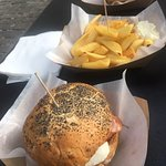 Photo of Fish Ham Burger & Fry