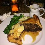 Top home made proper pub pie