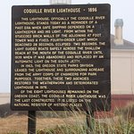 Coquille River Lighthouse Foto
