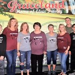 4 generations stay at The Guest House and visit Graceland for my Mom's 76th birthday!!
