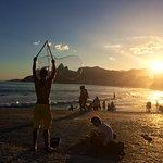 Praia do Arpoador Foto