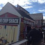 On ne peut arréter à Charlottetown sans manger homard et frites.