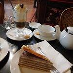 Torta Dobos, Irish Coffee e del Té