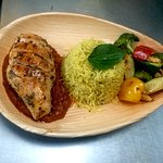 Our today's special sweet and tangy grilled chicken 👌👌👈