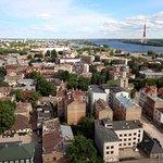 Panorama Riga Observation Deck Foto