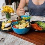 Tapas breakfast @ Acqua Restaurant Koh Phi Phi.