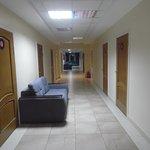 passageway to rooms