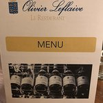 Photo de Olivier Leflaive le Restaurant