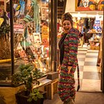 An eclectic little gift shop that for some reason feels a lot like home. It's always PJ and Onsie day at Walking Pants!