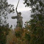 Photo de 'The Motherland Calls' Sculpture