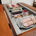 Buffet d'entrées du Menu du jour (Du lundi au vendredi midi - à 13€)