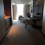 Entering our suite