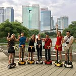 Segway Tour: Guided Eco Ride at KL Lake Gardens including Islamic Arts Museum
