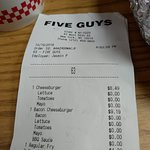 Foto van Five Guys