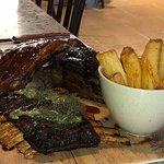 The mixed ribs - lamb, pork and beef