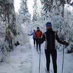 30k of groomed wilderness trails
