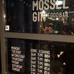 Foto van Mossel en Gin