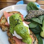 Photo de Blue Door Cafe