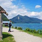 Billede af Lake Walchensee